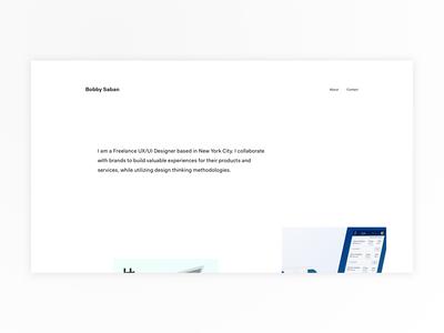 Personal Design Portfolio