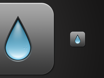 Hydrate Icon hydrate iphone app water ios