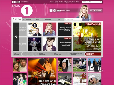 New Radio 1 Homepage bbc radio1 live homepage music