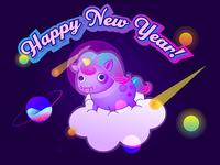 Happy New Year Small