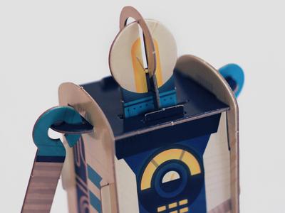 Wobble Bot wobble robot 3d
