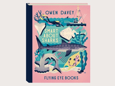 Smart About Sharks sea diver tooth boat seaweed book sharks