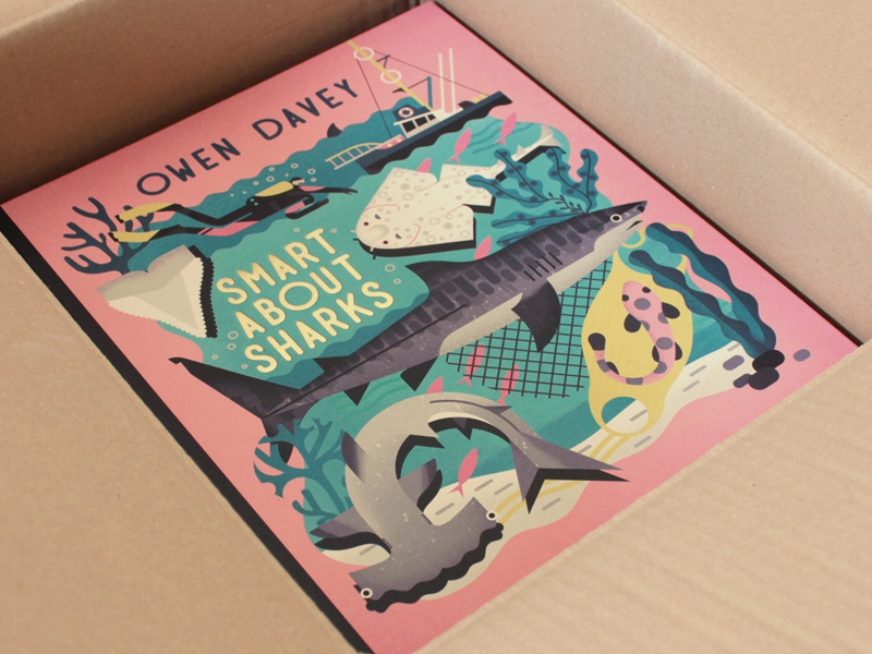 Smart About Sharks - Unboxed gold book sharks