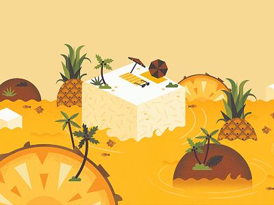 Smashmallow #6 tropical coconut pineapple snack treat gluten free marshmallow