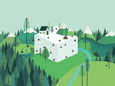 Smashmallow #5 trees mint mountains snack treat gluten free marshmallow