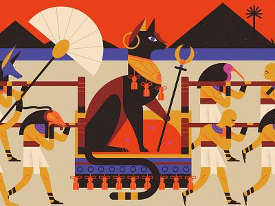 Experience #2 ibis fan slaves gods egypt pharaoh cat