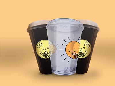 CoffeeWeather branding design graphic design minimal