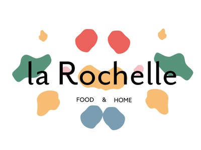 La Rochelle pattern making wrapping paper collateral design branding and identity small business graphic design