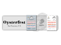 San Francisco's Oysterfest Poster Explorations