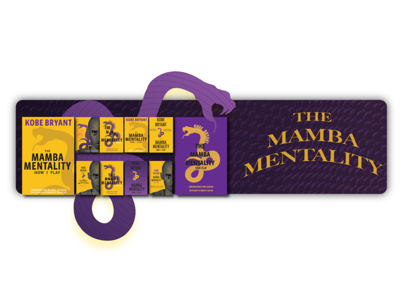 The Mamba Mentality Explorations Portfolio Piece posters changes lettering flat typography kobe bryant explorations book cover graphic design illustration minimal vector design challenge design