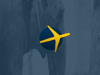 Expedia UX and Logo Redesign landing pages travel agancy travel landing page flat typography ui explorations minimal design