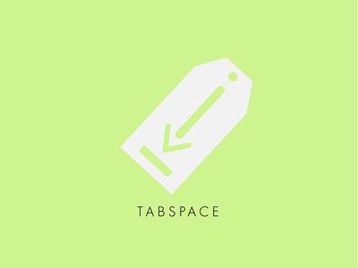 TabSpace branding typography explorations design challenge vector graphic design flat minimal design