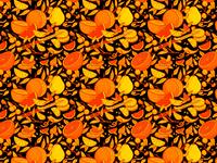 Dark Citrus Pattern