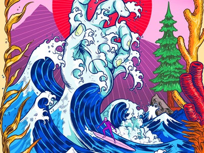 Surf Hand Detail