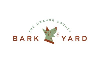 The OC BarkYard Logo Design logo design visual  identity identity design brand and identity brand design branding graphic  design logo