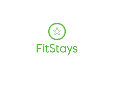 Logo for FitStays Rebrand icon design rebranding rebrand visual identity branding and identity brand identity branding logo design branding logo design logo