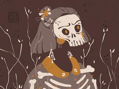 Happy Spooky Day! spooky procreate illustration digital illustration happy halloween halloween