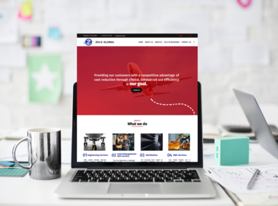 Zulu Global web site