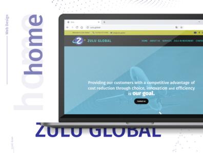 ZULU GLOBAL web re-design