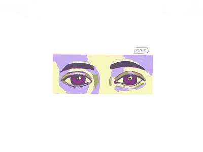 Eyes illustration ipadpro design sketchbook