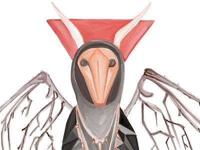 Inktober Day Six: Riverdale Gargoyle King sketchbook ipad pro gargoyle king riverdale inktober