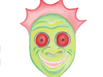 Inktober Day Five (make-up): Halloween Town II Kalabar's Revenge sletchbook ipad pro halloweentown 2 inktober