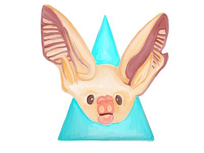 Inktober Day Ten: Bat Baby bat baby ipad pro sketchbook inktober