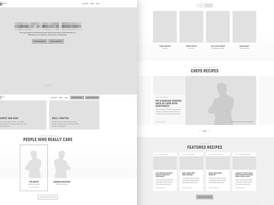 Butcher: Greyscale Mockups v01 website web design web clean greyscale mockup grey australia sydney farm meat butcher