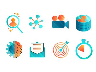 HR icons ux vector digitalart design ui