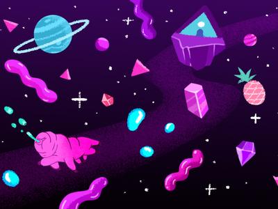 Universe psychedelic universe space photoshop appdesign illustraion digitalart