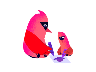 Northern Cardinal animals photoshop digitalart illustration northern cardinal