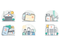 Healthcare Iconography Set