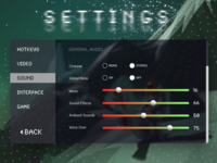 Daily UI 007: Settings Page