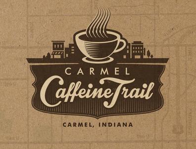 Carmel Caffeine Trail Logo