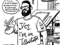 Illustrator at work 01