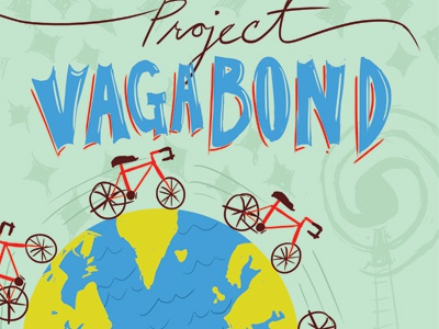 Project Vagabond Poster poster hand lettering