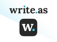 write.as _______