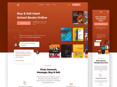 School Books Mobile Responsive Design homepage bookstore bookshop books responsive layout responsive design mobile responsive responsive mobile ux web design company user interface ui website web design kid branding web design