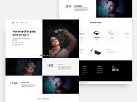 Eyewear Web Design