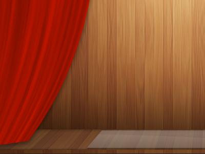 Wooden Stage