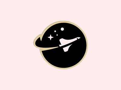 Stickermule Slingshot charm! rocket stars spaceship space mark logo brand sticker charm stickermule