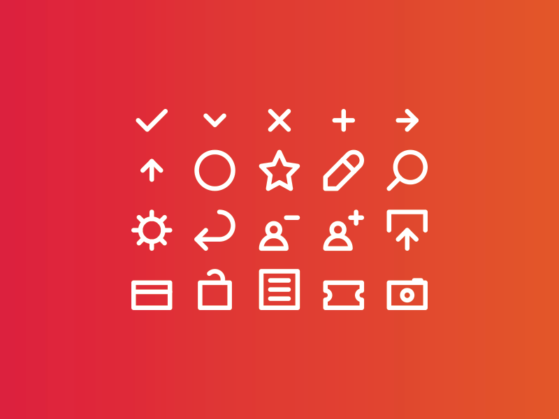 Icons for a new project! upload edit star add brand logo mark iconography icon icons
