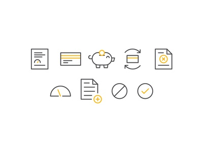 Icons for a new client