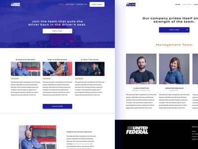 United Federal website