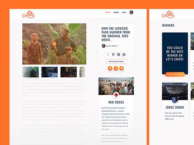 Application designs for Let's Enter icon button cta social interface branding ui ux dinosaur jurassic park