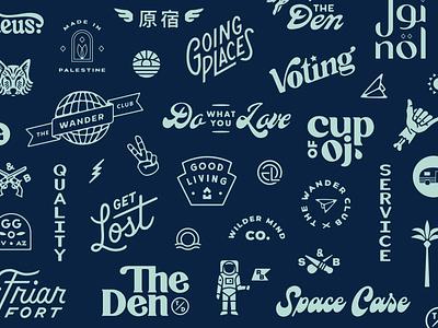 2020+ Roundup logo flash wordmark logotype flash lettering logodesign branding
