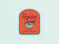 Restaurant Regular Badge