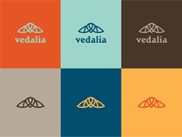 Vedalia Logo Palette Exploration