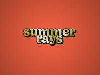 Summer Rays Lockup