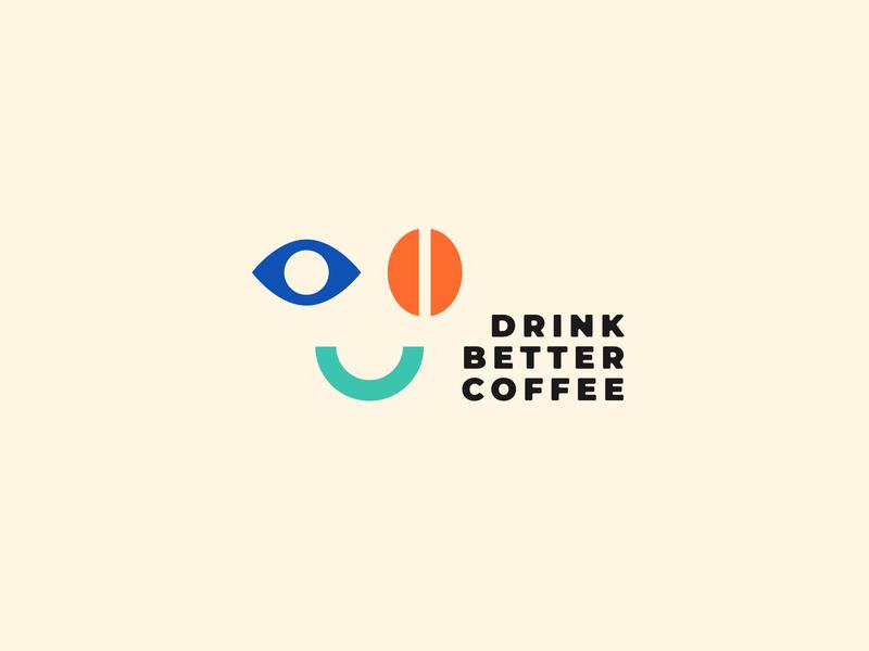 Rewired Roasters Logo Concept A cbd coffee identity branding logo system logo